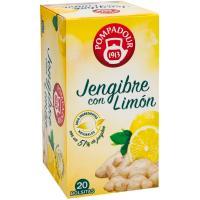Jengibre de limón POMPADUR, caja 20 unid.