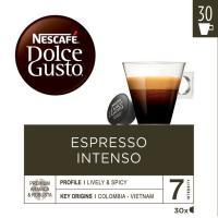 Café espresso intenso NESCAFÉ Dolce Gusto, caja 30 monodosis
