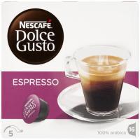 Café Espresso suave NESCAFÉ Dolce Gusto, caja 96 g