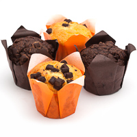 Muffins variados PELAYO, bandeja 300 g