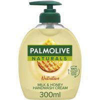 Jabón de manos leche-miel PALMOLIVE, dosificador 300 ml