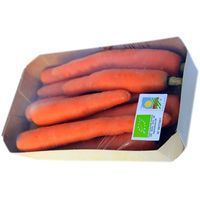 Zanahoria ecológica, bandeja 600 g