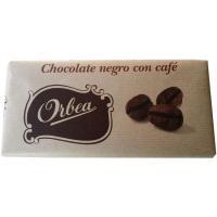 Chocolate negro con café ORBEA, tableta 125 g