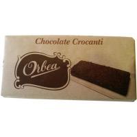 Chocolate con leche crocanti ORBEA, tableta 125 g