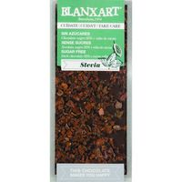 Chocolate negro 85% cacao con stevia BLANXART, tableta 100 g