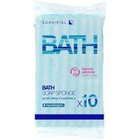 Esponja con jabón desechable ESPONJABÓN, pack 10 uds
