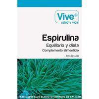 Espirulina VIVE+, caja 50 cápsulas