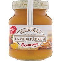 Crema de merm. de melocotón LA VIEJA F. Cremosa, frasco 350 g