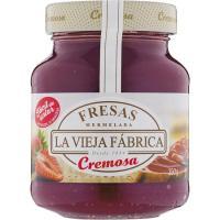 Crema de merm. de fresa LA VIEJA FABRICA Cremosa, frasco 350 g