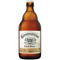 Cerveza artesana alemana GREVENSTEINER, botellín 50 cl