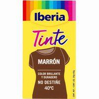 Tinte ropa marrón IBERIA, caja 1u