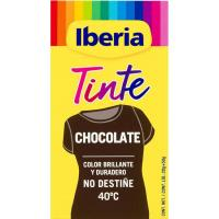 Tinte ropa color chocolate IBERIA, caja 1 ud.