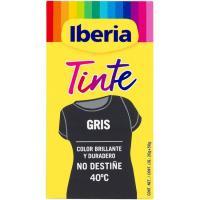 Tinte ropa gris IBERIA, caja 1 ud.