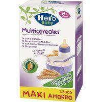 Papilla multicereales HERO, caja 1.200 g