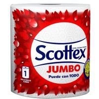 Papel de cocina jumbo SCOTTEX, paquete 1 rollo