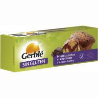 Mini bizcocho de chocolate sin gluten GERBLÉ, caja 200 g