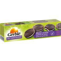 Galletas de cacao rellenas sin gluten GERBLÉ, caja 125 g