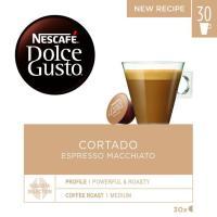 Café cortado NESCAFÉ Dolce Gusto, caja 30 monodosis