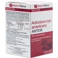 Arándano rojo americano NATURTIERRA, caja 30 cápsulas