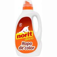 Detergente líquido ropa de color NORIT, garrafa 40 dosis