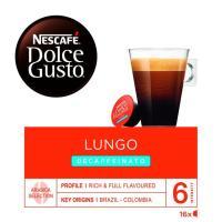 Café Lungo Descaffeinato NESCAFÉ Dolce Gusto, caja 16 cápsulas
