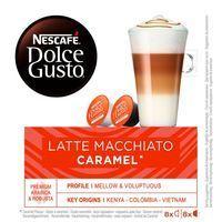 Café Espresso Macchiato NESCAFÉ Dolce Gusto, caja 16 monodosis