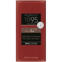 Chocolate negro extrafino 70% 1895, tableta 100 g