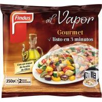 Selección verduras al vapor FINDUS Gourmet, bolsa 350 g