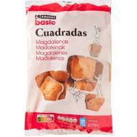 Magdalena rellena de cacao EROSKI, paquete 300 g