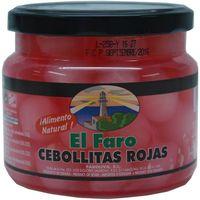 Cebollitas rojas agridulces FARO, frasco 280 g
