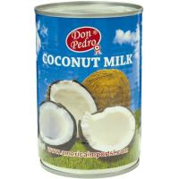 Leche de coco DON PEDRO, lata 400 ml