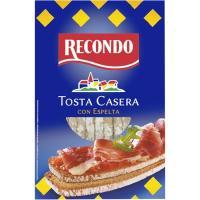 Tosta casera con espelta RECONDO, paquete 250 g