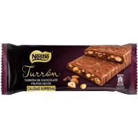 Turrón de chocolate con frutos secos NESTLÉ, tableta 230 g