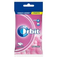 Chicle Bubblemint en grangea ORBIT, pack 4x14 g