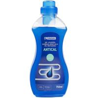 Gel antical lavadora EROSKI, botella 750 ml