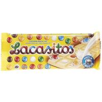 Chocolate blanco con lacasitos LACASITOS, tableta 100 g