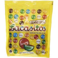Grageas de chocolate LACASITOS, bolsa 190 g