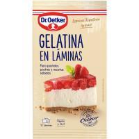 Gelatina en láminas DR. OETKER, sobre 20 g