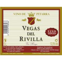 Vino Tinto de mesa VEGA DEL RIVILLA, garrafa 5 litros