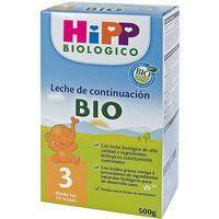 Leche biológica de Crecimiento 3 HIPP, caja 500 g
