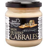 Salsa de queso de cabrales SALSAS ASTURIANAS, frasco 190 g