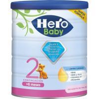 Leche de continuación HERO Baby  Nutrasense 2, lata 800 g