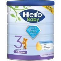 Leche crecimiento Nutrasense 3 HERO Baby, lata 800 g