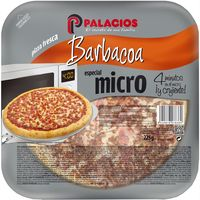 Pizza mini micro barbacoa PALACIOS, 1 unid., 25 g
