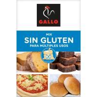 Mix harina sin gluten GALLO, caja 500 g