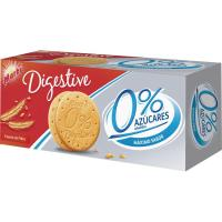 Galleta Digestive 0% azúcares añadidos MARBÚ, caja 400 g