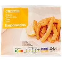 Rabas empanadas EROSKI, bolsa 400 g