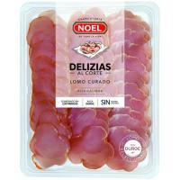 Delizias de lomo curado NOEL, bandeja 120 g