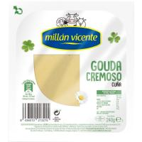 Queso Gouda tierno ROYAL HOLLANDIA, cuña 240 g