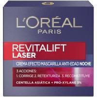 Crema láser cicatrizante de noche 3 E/P L`OREAL, tarro 50 ml